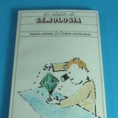 Libros de segunda mano: LOS ESTUDIOS DE GEMOLOGÍA. MONOGRAFÍAS PROFESIONALES Nº 60. FUNDACIÓN UNIVERSIDAD-EMPRESA. Lote 45875295
