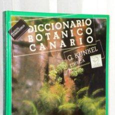 Libros de segunda mano: DICCIONARIO BOTÁNICO CANARIO.MANUAL ETIMOLÓGICO.. Lote 46216520