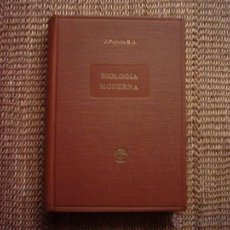 Libros de segunda mano: P. JAIME PUJIULA, S.J. MANUAL COMPLETO DE BIOLOGÍA MODERNA MACRO Y MICROSCÓPICA. 1949. ILUSTRADO.. Lote 46473734
