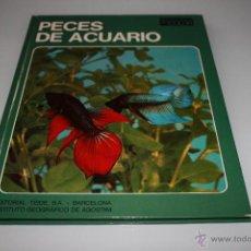 Libros de segunda mano: PECES DE ACUARIO - DOCUMENTAL EN COLOR - AÑO 1973 - TEIDE. Lote 46513190