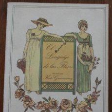 Libros de segunda mano: EL LENGUAJE DE LAS FLORES – MAGNIFICAS ILUSTRACIONES POR KATE GREENWAY. Lote 46517964