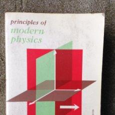 Libros de segunda mano de Ciencias: PRINCIPLES OF MODERN PHYSICS. ROBERT B. LEIGHTÓN. MCGRAW-HILL. KOGAKUSHA. TOKIO.1959. Lote 46771807
