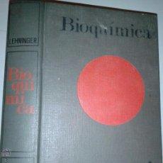 Libros de segunda mano de Ciencias: BIOQUÍMICA ALBERT L. LEHNINGER 1972 ED. OMEGA. Lote 46543440