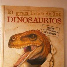 Libros de segunda mano: EL GRAN LIBRO DE LOS DINOSAURIOS HAZTE EXPLORADOR DE FOSILES SUSAETA. Lote 46961938