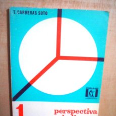 Libros de segunda mano de Ciencias: PERSPECTIVA CABALLERA.DIBUJO AXONOMETRICO INDUSTRIAL.. Lote 132463255