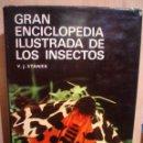 Libros de segunda mano: GRAN ENCICLOPEDIA ILUSTRADA DE LOS INSECTOS. Lote 47035755