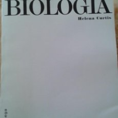 Libros de segunda mano: BIOLOGIA - HELENA CURTIS -OMEGA. Lote 47181142