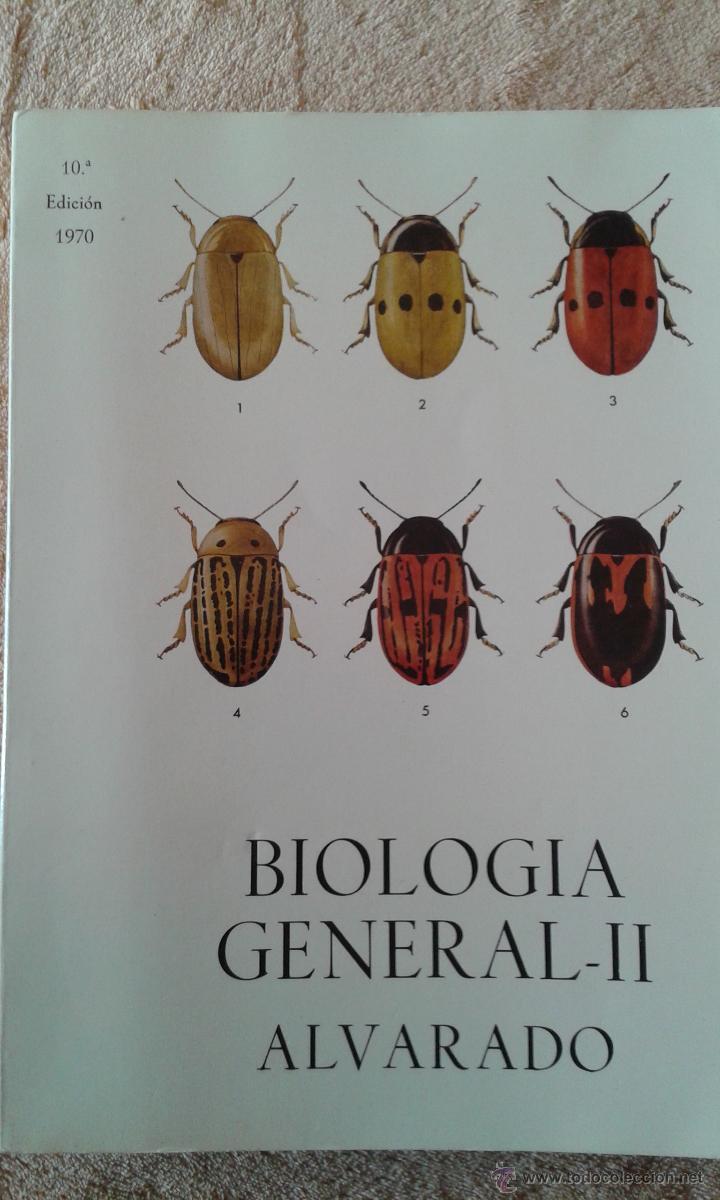 BIOLOGIA GENERAL II ALVARADO (Libros de Segunda Mano - Ciencias, Manuales y Oficios - Biología y Botánica)