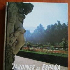 Libros de segunda mano: SENSACIONAL OBRA: JARDINES DE ESPAÑA –PATRIMONIO CULTURAL DE ESPAÑA – MAGNIFICAMENTE ILUSTRADO. Lote 47305548