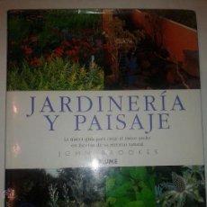 Libros de segunda mano: JARDINERÍA Y PAISAJE LA NUEVA GUÍA PARA CREAR EL MEJOR JARDÍN 1998 JOHN BROOKES ED. BLUME. Lote 47349046