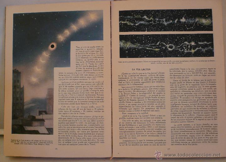 Libros de segunda mano: LA NATURALEZA - TOMO IV - GEOLOGIA ASTRONOMIA - PUIG - SIMON 1962 - EDIT DALMAU Y JOVER - Foto 4 - 47509012