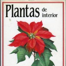 Libros de segunda mano: PLANTAS DE INTERIOR. TEXTO DE JAN PRIBYL. ILUSTRACIONES DE ZDENEK BERGER. Lote 47654870