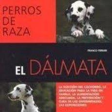 Libros de segunda mano: PERROS DE RAZA, EL DALMATA, FRANCO FERRARI, DE VECCHI. Lote 47772670