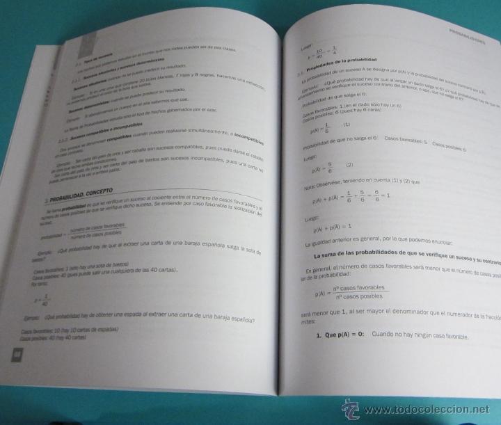Libros de segunda mano de Ciencias: MATEMÁTICAS BASE II. CURSO DE ACCESO A CICLOS FORMATIVOS DE GRADO SUPERIOR - Foto 4 - 46220293