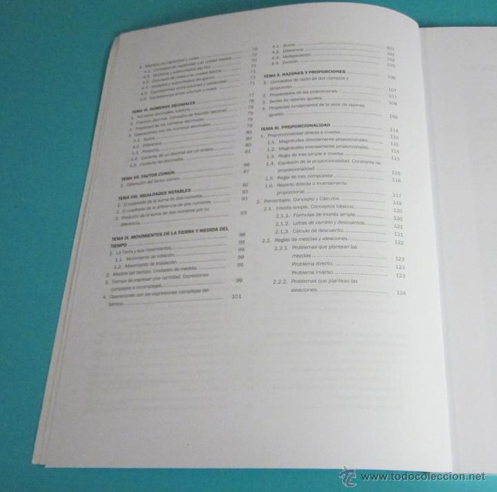Libros de segunda mano de Ciencias: MATEMÁTICAS BASE I. CURSO DE ACCESO A CICLOS FORMATIVOS DE GRADO SUPERIOR - Foto 3 - 46220305