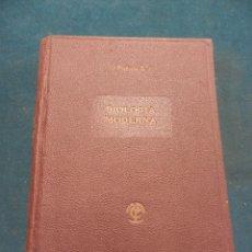 Libros de segunda mano: MANUAL COMPLETO DE BIOLOGÍA MODERNA MACRO Y MICROSCOPIA - POR P. JAIME PUJIULA - EDITORIAL TIP 1949. Lote 48181628