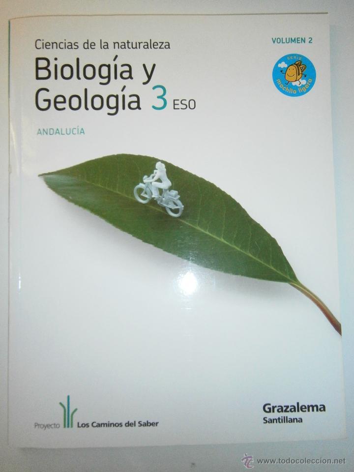 Libros de segunda mano: BIOLOGIA Y GEOLOGIA 3 ESO 4 TOMOS SANTILLANA - Foto 3 - 48579664