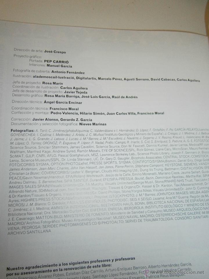 Libros de segunda mano: BIOLOGIA Y GEOLOGIA 3 ESO 4 TOMOS SANTILLANA - Foto 7 - 48579664