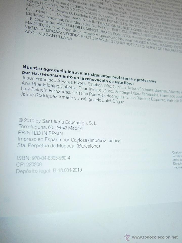 Libros de segunda mano: BIOLOGIA Y GEOLOGIA 3 ESO 4 TOMOS SANTILLANA - Foto 8 - 48579664