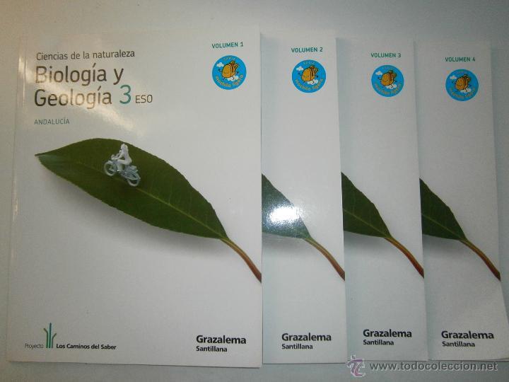 Libros de segunda mano: BIOLOGIA Y GEOLOGIA 3 ESO 4 TOMOS SANTILLANA - Foto 9 - 48579664