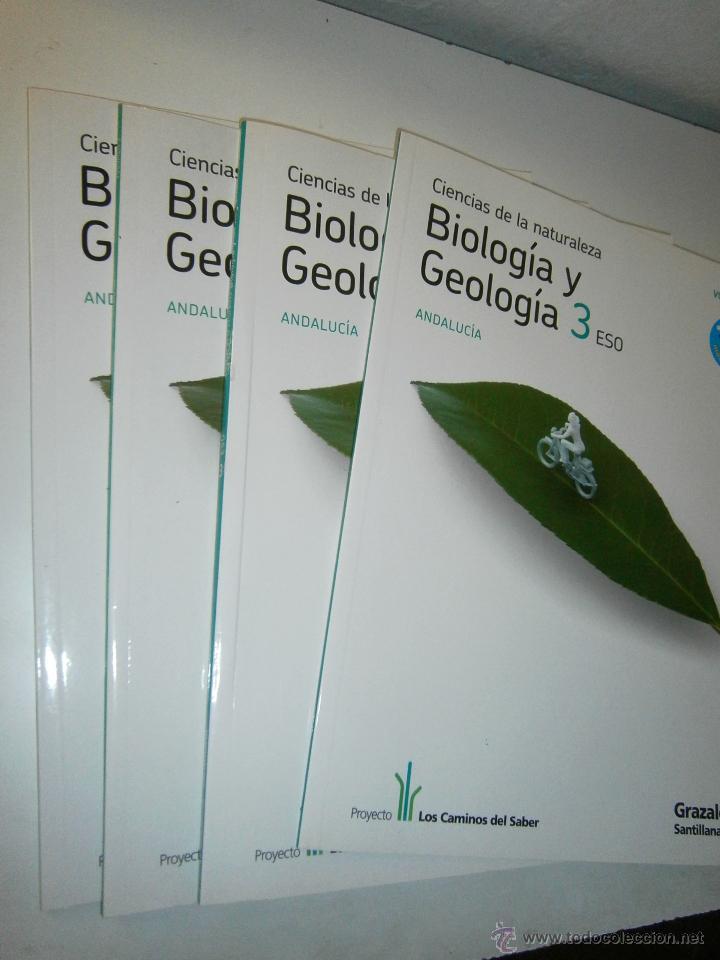 Libros de segunda mano: BIOLOGIA Y GEOLOGIA 3 ESO 4 TOMOS SANTILLANA - Foto 10 - 48579664