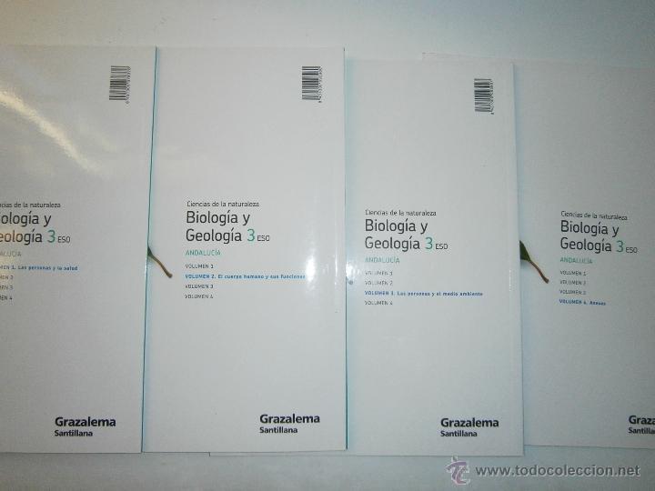 Libros de segunda mano: BIOLOGIA Y GEOLOGIA 3 ESO 4 TOMOS SANTILLANA - Foto 11 - 48579664