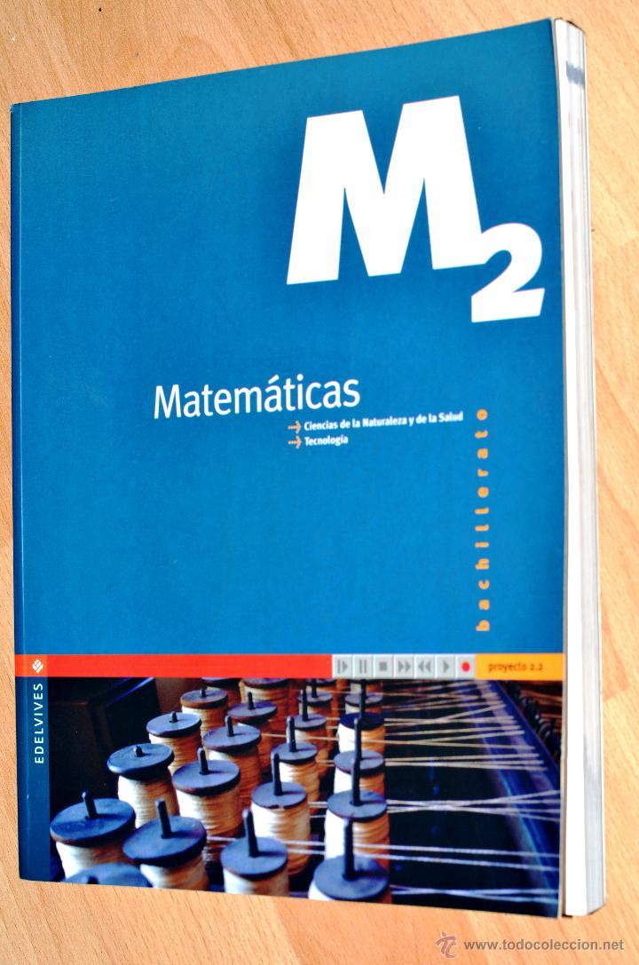 MATEMATICAS EDELVIVES 2º BACHILLERATO (Libros de Segunda Mano - Ciencias, Manuales y Oficios - Física, Química y Matemáticas)