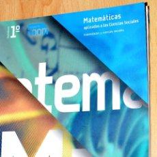 Libros de segunda mano de Ciencias: MATEMATICAS 1º BACHILLERATO PROYECTO ZOOM. Lote 48591050