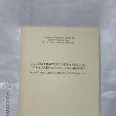 Libros de segunda mano: LA ENFERMEDAD DE LA PIEDRA EN LA ARENISCA DE VILLAMAYOR 1988. Lote 48624117