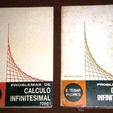 Libros de segunda mano de Ciencias: PROBLEMAS DE CÁLCULO INFINITESIMAL 2T POR E. TEBAR FLORES, AUTOEDICIÓN EN ALBACETE 1975-1978. Lote 27855205