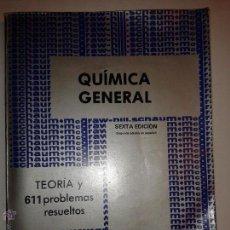 Libros de segunda mano de Ciencias: QUÍMICA GENERAL TEORÍA Y 611 PROBLEMAS RESUELTOS 1982 JEROME L. ROSENBERG 2º ED. MCGRAW-HILL. Lote 48745053