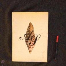 Libros de segunda mano: CONCHAS MARINAS - PEDRO SADURNÍ - 1972 - SEIX BARRAL. Lote 48762012