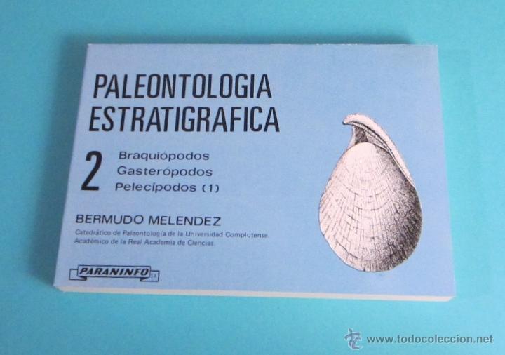 FICHAS DE PALEONTOLOGÍA ESTRATIGRÁFICA Nº 2. BERMUDO MELÉNDEZ (Libros de Segunda Mano - Ciencias, Manuales y Oficios - Paleontología y Geología)