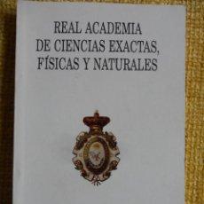 Libros de segunda mano de Ciencias: REAL ACADEMIA DE CIENCIAS EXACTAS, FISICAS Y NATURALES. ANUARIO 1997. RUSTICA. 246 PAGINAS. 10 X 15. Lote 48881454