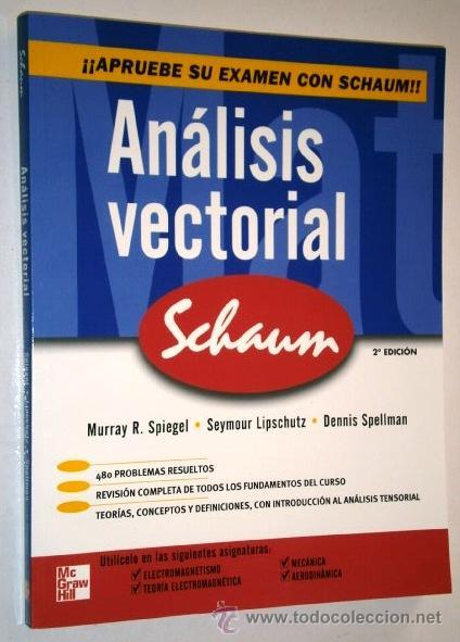 analisis vectorial y tensorial schaum