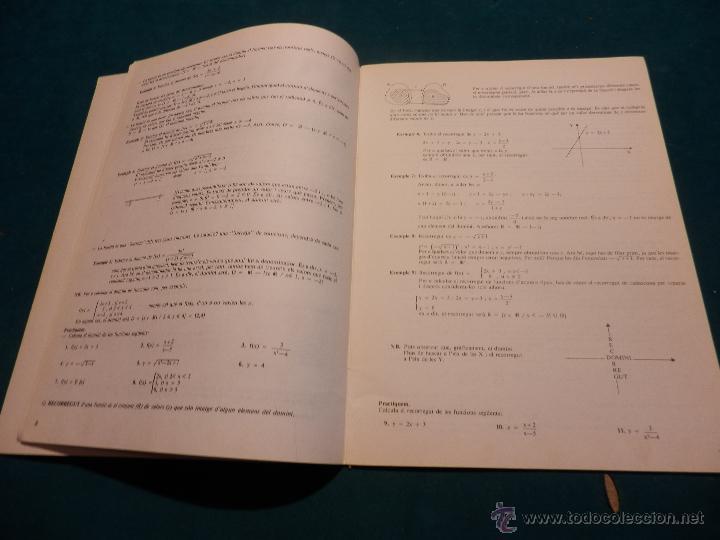 Libros de segunda mano de Ciencias: DESCOBRIM LES FUNCIONS ! FUNCIÓ EXPONENCIAL I LOGARÍTMICA (Nº 5 - MAT-82) ED. CLARET 1985 -EN CATALÀ - Foto 4 - 49066362