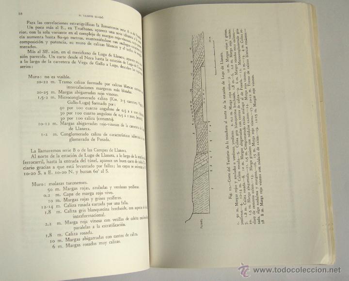 Libros de segunda mano: MAPA GEOLOGICO DE ASTURIAS. HOJA Nº 6 - REGION DEL NORTE DE LLANERA ( OVIEDO ) - N. LLOPIS LLADO - Foto 2 - 49119248