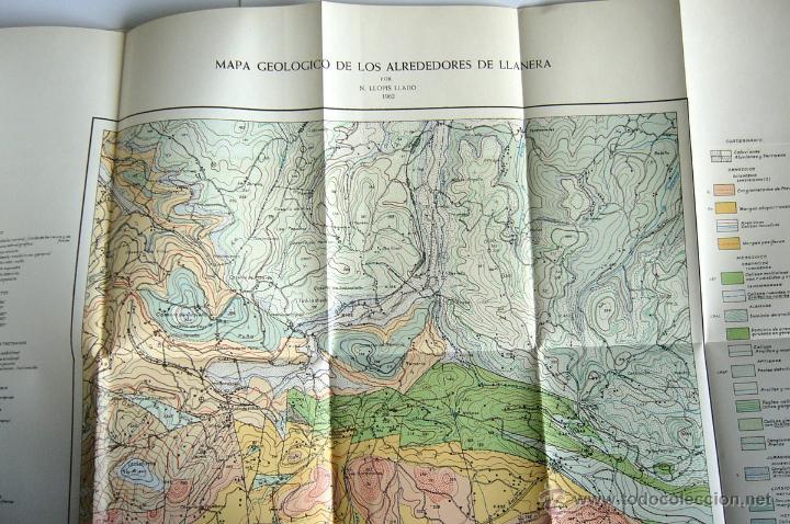 Libros de segunda mano: MAPA GEOLOGICO DE ASTURIAS. HOJA Nº 6 - REGION DEL NORTE DE LLANERA ( OVIEDO ) - N. LLOPIS LLADO - Foto 3 - 49119248