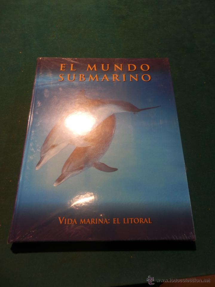 b7d09b6c32 VIDA MARINA  EL LITORAL - EL MUNDO SUBMARINO - EDICIONES RUEDA - DELFINES.