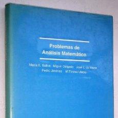 Libros de segunda mano de Ciencias: PROBLEMAS DE ANÁLISIS MATEMÁTICO POR Mª E. BALLVÉ Y OTROS DE ED. SANZ Y TORRES EN MADRID 1993. Lote 49517272