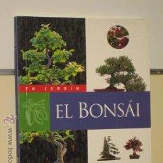 Libros de segunda mano: TU JARDIN EL BONSAI - SUSAETA. Lote 49640376