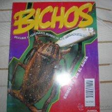 Libros de segunda mano: BICHOS. DESCUBRE EL FASCINANTE MUNDO DE LOS MINIMONSTRUOS. PLANETA DEAGOSTINI. FASCICULO 15. Lote 49672927