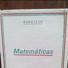 Libros de segunda mano de Ciencias: MATEMATICAS TERCER CURSO. Lote 49849249