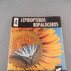 Libros de segunda mano: LEPIDOPTEROS ROPALOCEROS. Lote 49911650