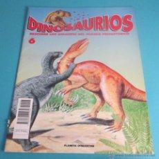Libros de segunda mano: DINOSAURIOS. DESCUBRE LOS GIGANTES DEL MUNDO PREHISTÓRICO. FASCÍCULO 6. Lote 49978228