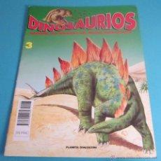 Libros de segunda mano: DINOSAURIOS. DESCUBRE LOS GIGANTES DEL MUNDO PREHISTÓRICO. FASCÍCULO 3. Lote 49978240