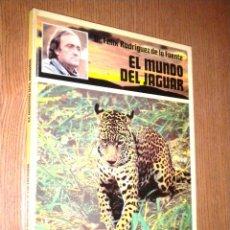 Libros de segunda mano: FELIZ RODRIGUEZ DE LA FUENTE : EL MUNDO DEL JAGUAR. Lote 50089801