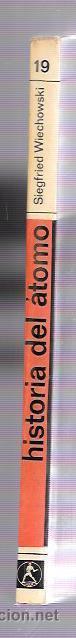 Libros de segunda mano de Ciencias: HISTORIA DEL ÁTOMO. SIEGFRIED WIECHOWSKI. NUEVA COLECCIÓN, Nº19. EDIT. LABOR. BARCELONA, 1969 - Foto 3 - 50118344