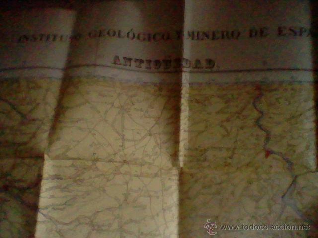 Libros de segunda mano: MAPA GEOLOGICO ANTIGUEDAD BURGOS PALENCIA 1953 HOJA 313 CON PLANOS 1963 - Foto 2 - 50140525
