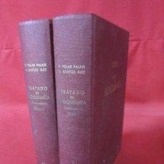 Libros de segunda mano de Ciencias: TRATADO DE BIOQUÍMICA - V. VILLAR PALASI Y A. SANTOS RUIZ. DOS VOLÚMENES. 1970. . Lote 50184890